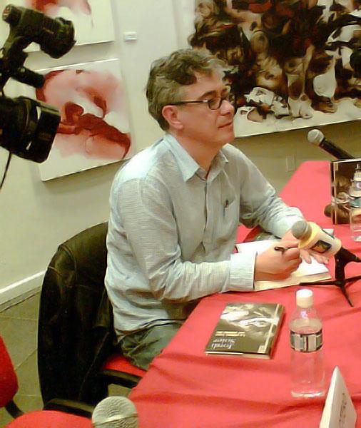Jordi Soler. Fotografía de Brenda Morales Muñoz.